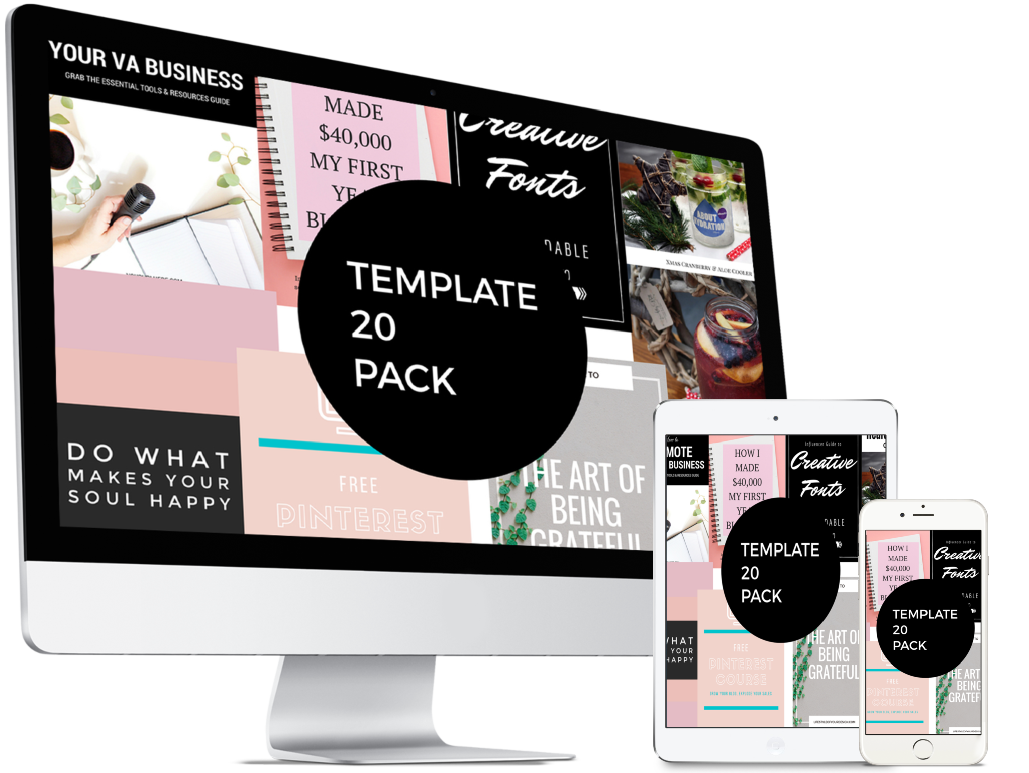 Pinterest Template 10 Pack - Canva Fully editable for all purposes. Use across any social media platform, blog post header for business marketing, sales and personal use. Pinterest pin designs up to date styles and color trends, fonts, typography to keep your help grow your brand, get more traffic, impressions, CTR, engagement, and increase Profits